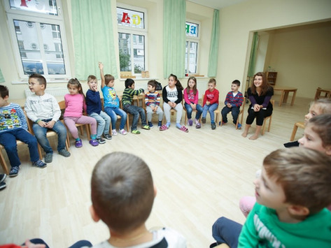German at home: Playing chinese whispers