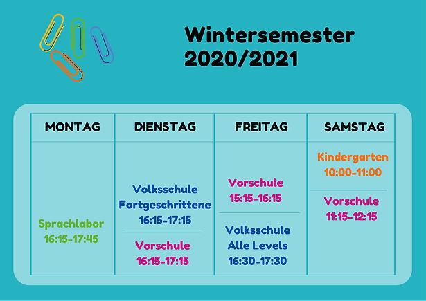 Wintersemester