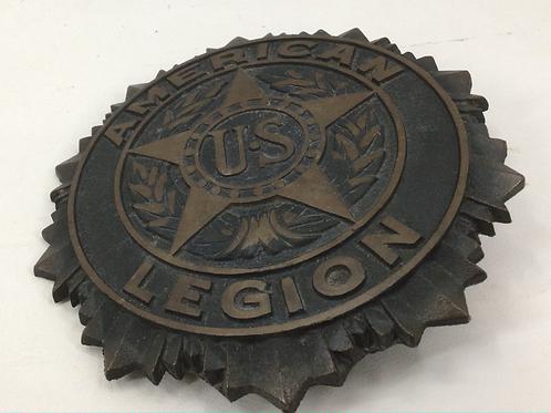 American Legion Bronze Embossed Medallion