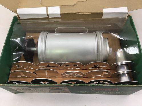 """Aluminum Cookie and Pastry Press Set Original Box """"MIRRO"""""""