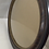 Thumbnail: 1900's Oval Frame with Dome Glass