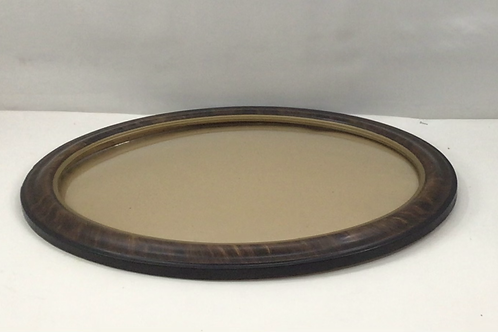1900's Oval Frame with Dome Glass
