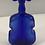 Thumbnail: Blue Cobalt Violin Shaped Bottle no Lid