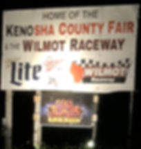 Soul Reapers Hauted House Sign Banner Kenosha County Fairgrounds Wilmot, WI Wilmot Raceway
