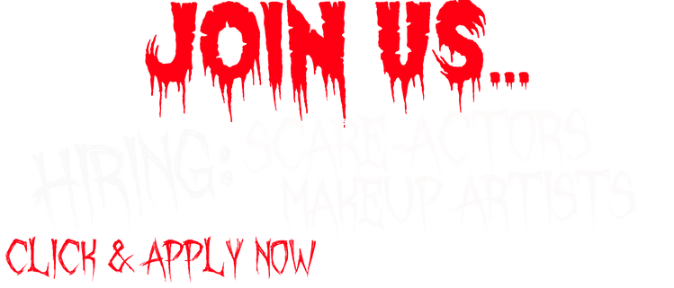 Now Hiring Soul Reapers Haunted House Join US Apply actors makeup artist grounds crew