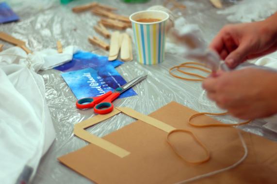 Head and Hands Shibori style workshop
