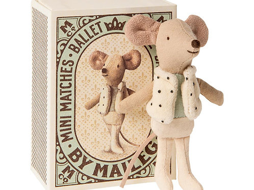 MOUSE BALLET: Little Brother Mouse in Matchbox