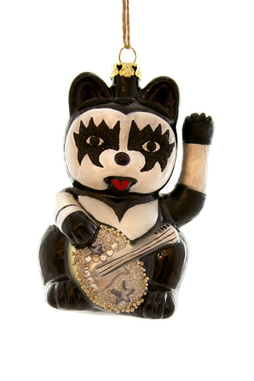 ROCKER CAT Ornament-80's Childhood Nostalgia Tree