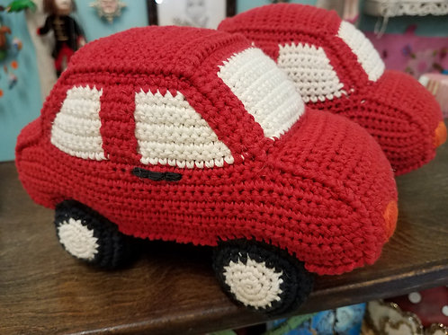 Crochet Car Rattle