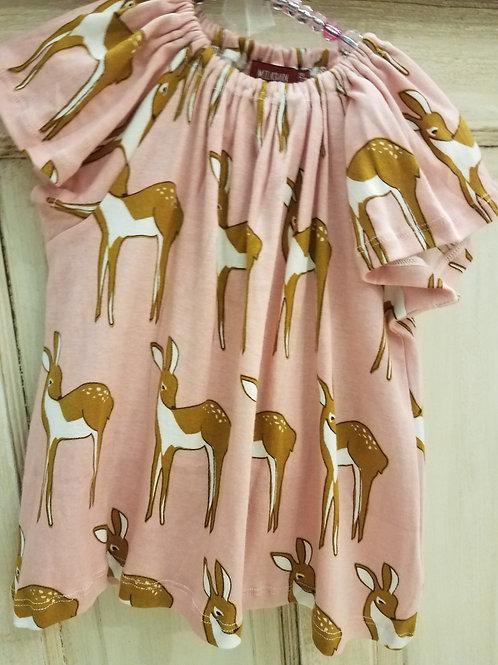 Fawn Dress & Bloomers Set