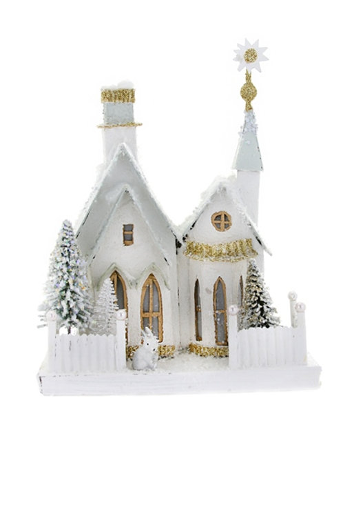 Cody Foster Holiday Winter Croft w/ Rabbit Cottage