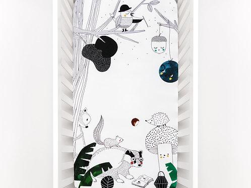 Woodland Dreams Crib Sheet