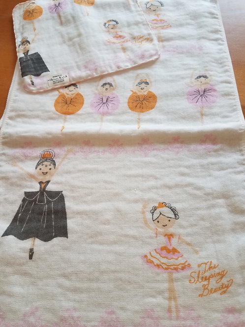 Sleeping Beauty Ballet Long Handtowel