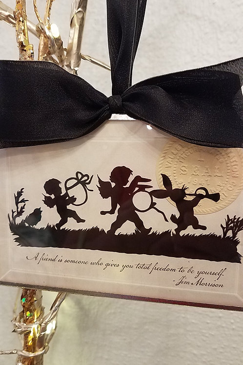 Handcrafted Silhouette Ornaments