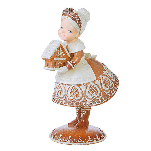 "13"" Gingerbread Mrs. Claus"