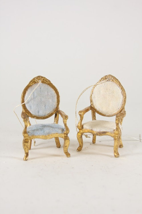 Parlor Chairs for Well-Dressed Animals- Set of 2