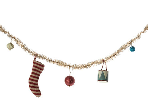 Winter 2021 Maileg Miniature Christmas Garland: Pre-Order