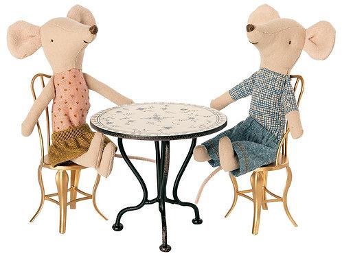 Vintage Metal Tea Table