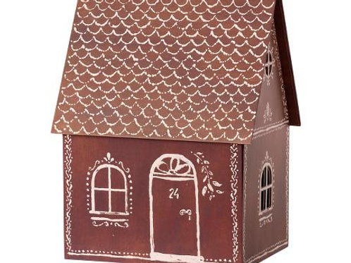 Winter 2021 Maileg Cardboard Gingerbread House: Pre-Order In Shop Only