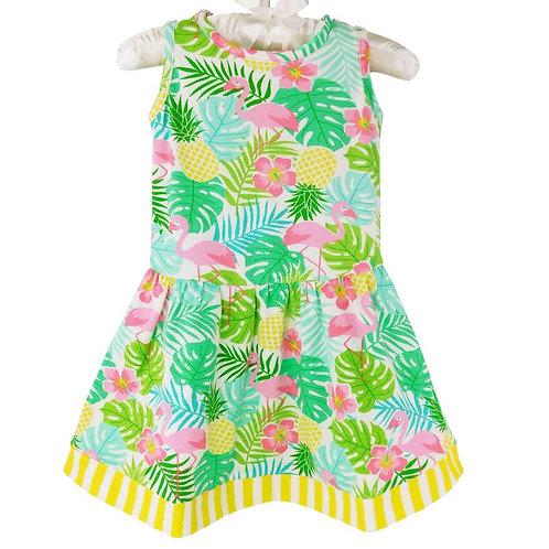 Flamingo Garden Dress