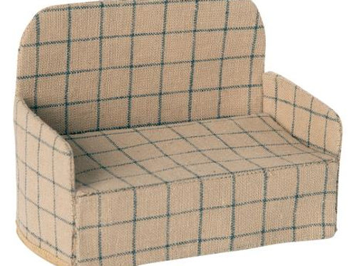 Maileg Linen Couch for Mice, Winter 2020 Collection