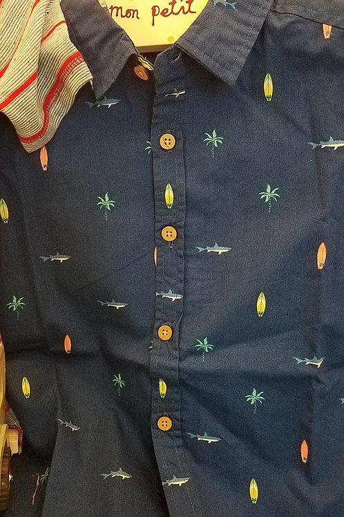 Little Sportsman Button Down Classic Shirt