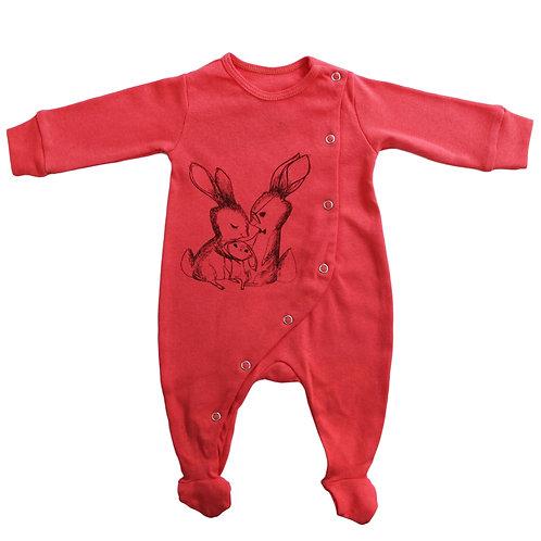 Baby Footie Pajama: Bunnies