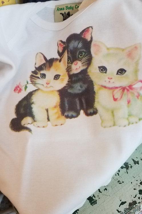 Little Kitties Baby Tee