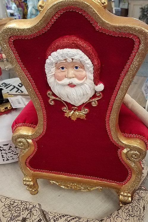Katherine's Collection 2020 Santa Chair-1 left