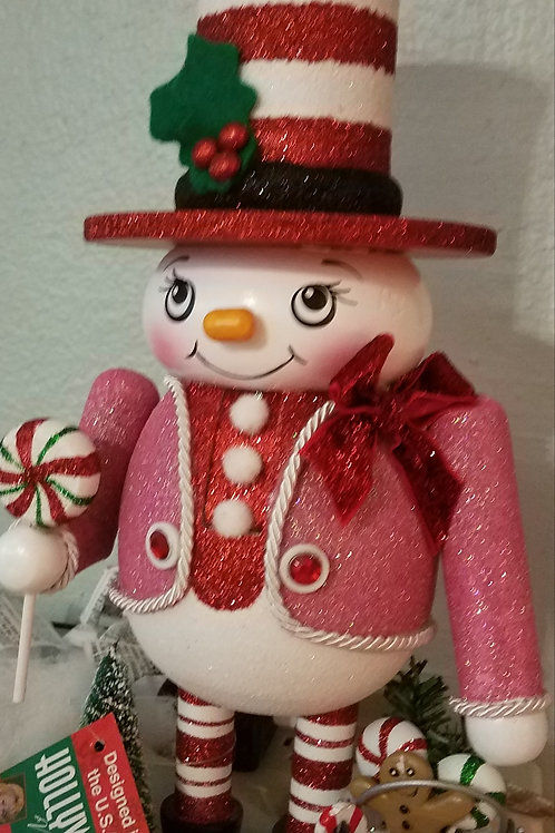 Kurt Adler Snowman Candy Nutcracker