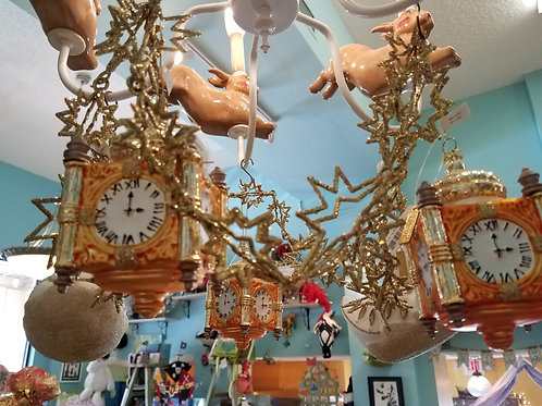 Collectible Clock Ornament