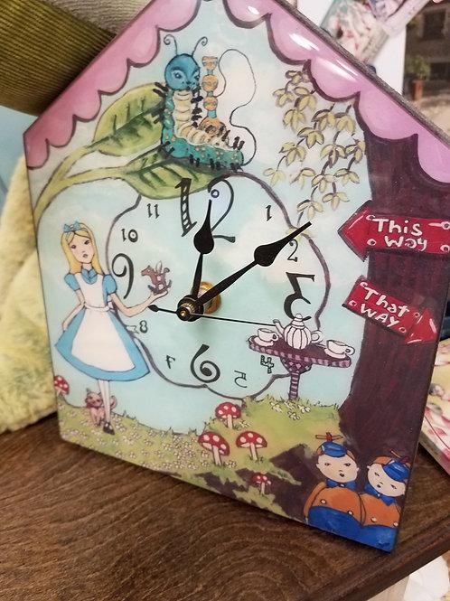 Alice Clock