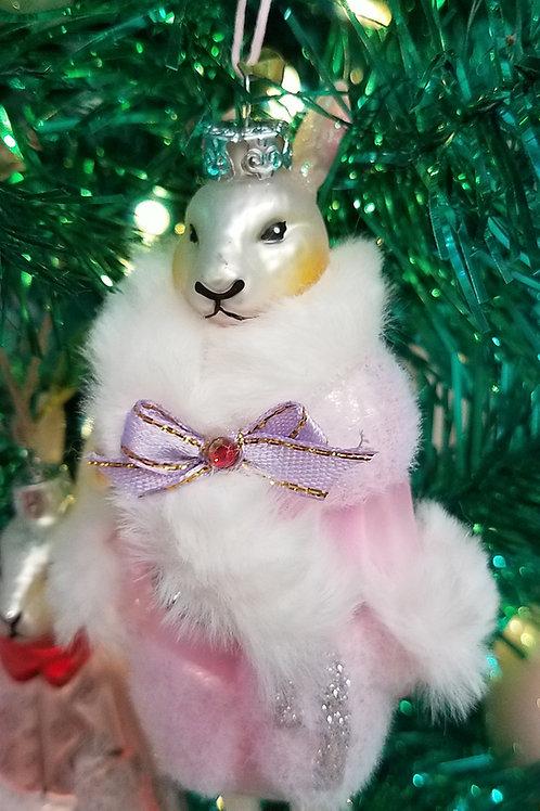 Well-Dressed Madame Blanche Rabbit