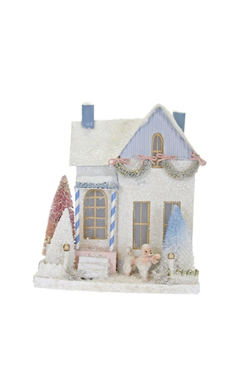 Cody Foster Holiday Wintertide Cottage w/ Poodle
