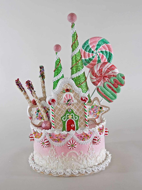Holiday Sweets Cake Tree Topper