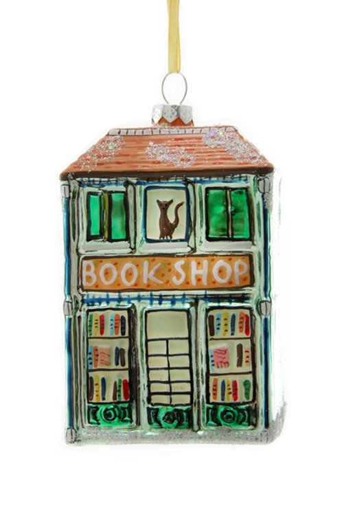 Well-Dressed  Animals BOOKSHOP ORNAMENT