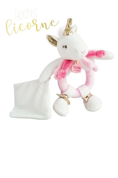 Unicorn Rattle with Dou Dou