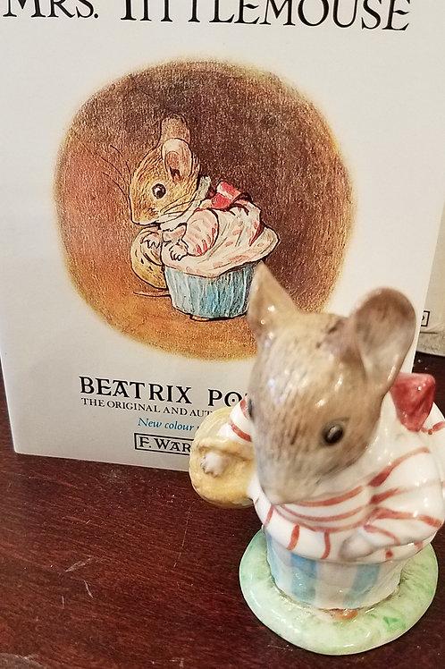 Mrs. Tittlemouse: Beatrix Potter Figurine BP-3c