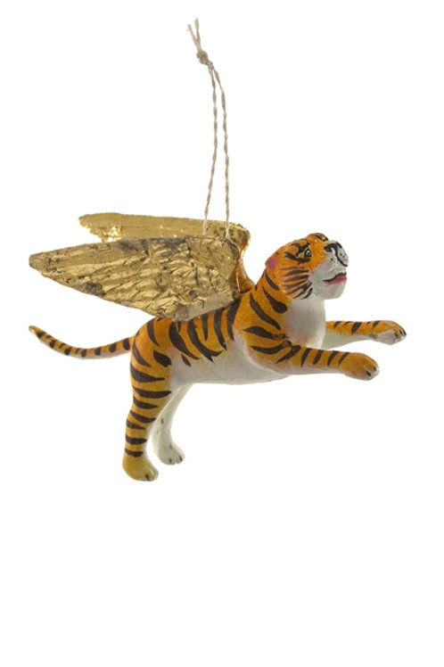 Winged Tiger Ornament-80's Childhood Nostalgia Tree