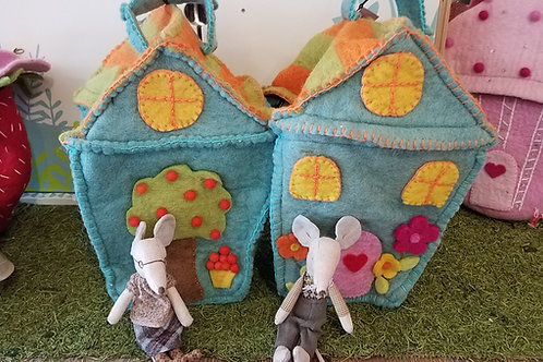 Mobile Felt Mouse House: Limited Quantity
