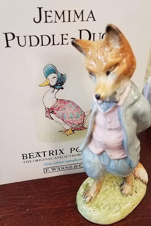 Foxy Whiskered Gentleman: Beatrix Potter Figurine BP-3c