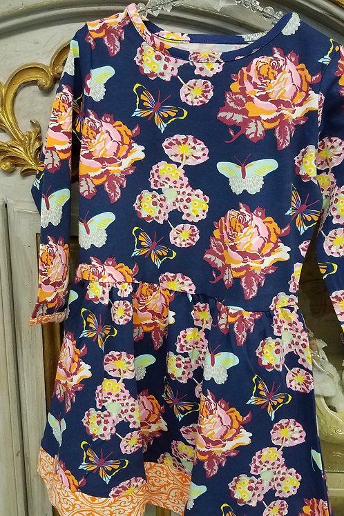 Fall Butterfly Dress