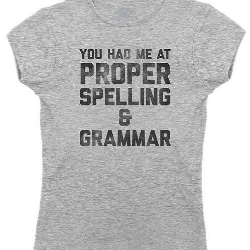 Proper Spelling T-Shirt