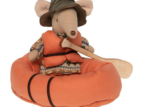 Rubber Boat with Life Jacket for Camping Mice-Pre-Order Arriving July 2020