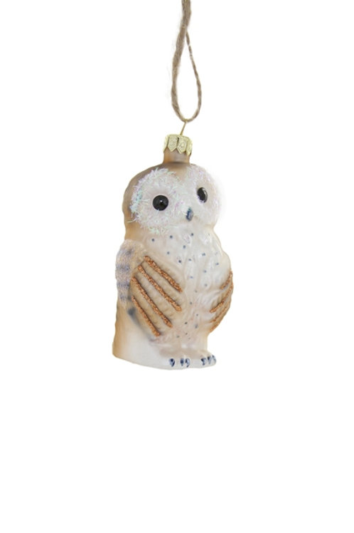 Bashful Owl Ornament