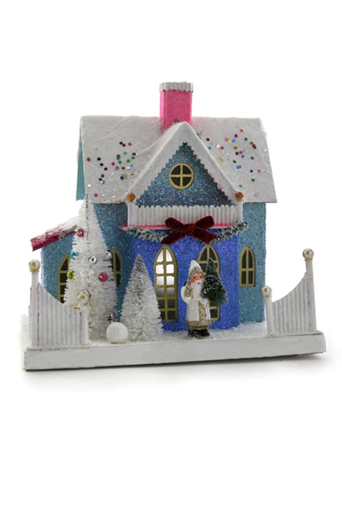 Cody Foster Holiday Confetti Cottage w/  St. Nick