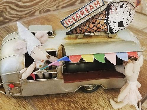 Collectible Ice Cream  Airstream Camper Trailer