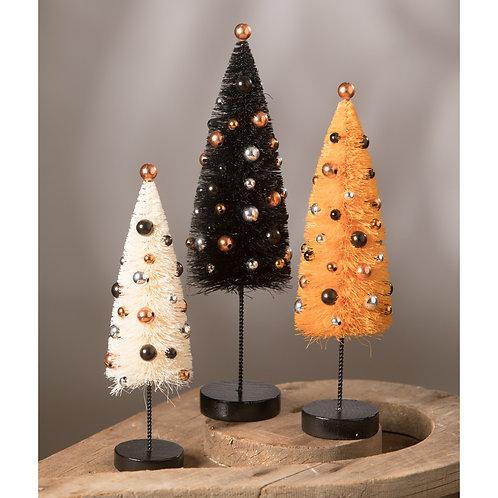 Halloween Confetti Trees/Set of 3