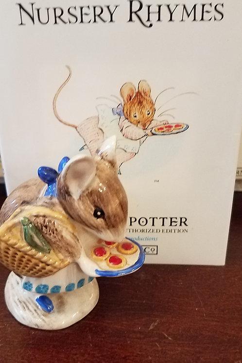 Appley Dapply: Beatrix Potter Figurine BP-3b