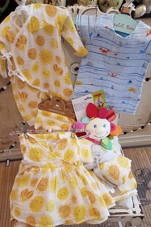Sunshine Kimono Baby Dress